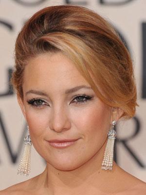 Kate Hudson Golden Globes Makeup Tutorial