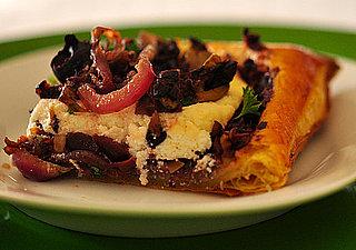 Savory Olive Tapenade Tart Recipe
