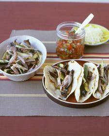 Easy Roasted Mushroom and Zucchini Taco Recipe