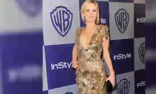 Anna Paquin and Other Celebrities in Sequins at the 2010 Golden Globes
