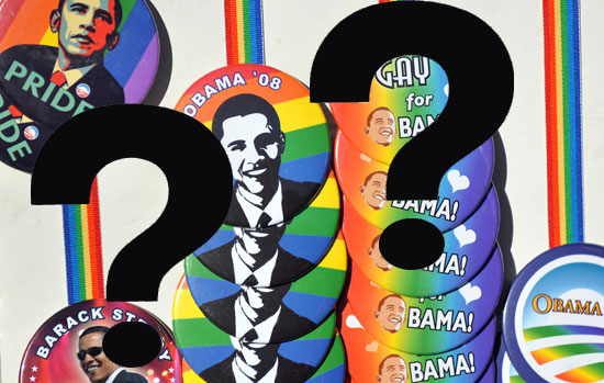 Barack Obama: Gay-Marriage Ban Supporter?