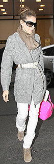 Sarah Jessica Parker Carrying Pink Tote
