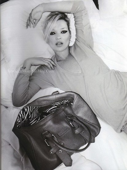 Kate Moss for Longchamp Bags Unveiled