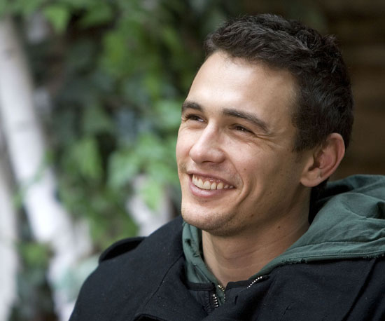 James Franco looked fresh-faced in 2007.