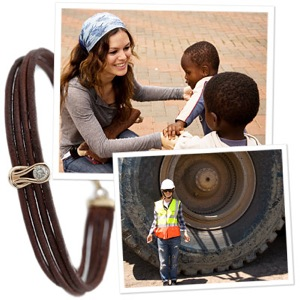 Rachel Bilson Designs Charity Bracelet for Diamond Empowerment Fund in Africa 2010-01-21 15:00:22