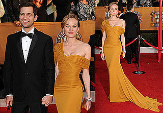 Photos of Joshua Jackson and Diane Kruger Walking the Red Carpet at the 2010 Screen Actors Guild Awards 2010-01-23 18:34:59