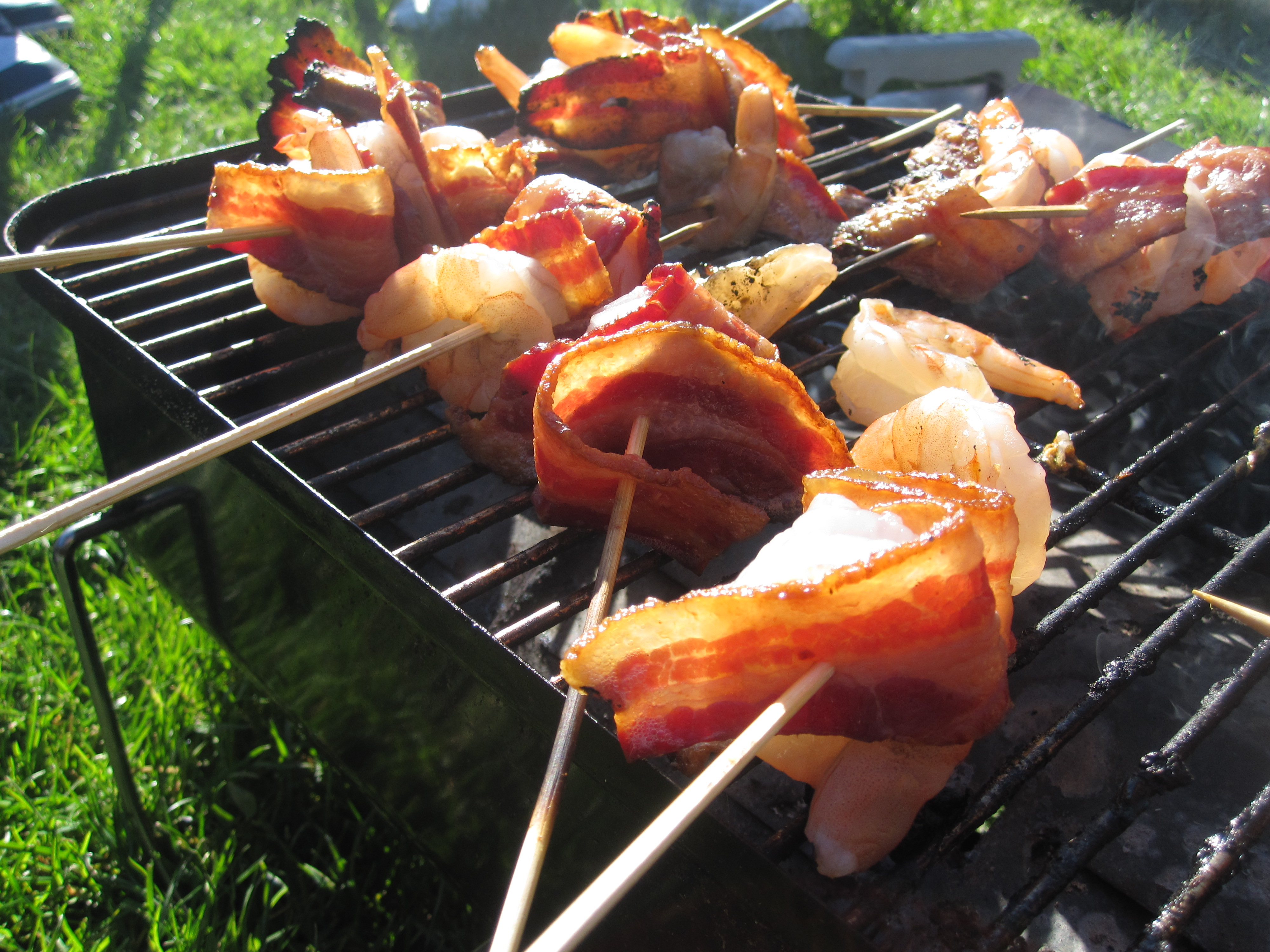 Bacon-Wrapped Shrimp With Chipotle Barbecue Sauce Recipe | POPSUGAR ...