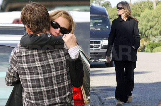 Photos of Julia Roberts With Her Dogs and Danny Moder in LA
