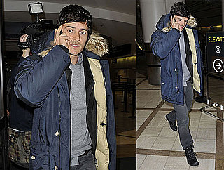 Photos of Orlando Bloom Arriving at LAX After Attending Sundance Film Festival