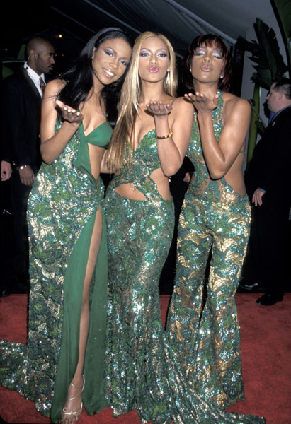 Michelle Williams, Beyoncé Knowles, and Kelly Rowland