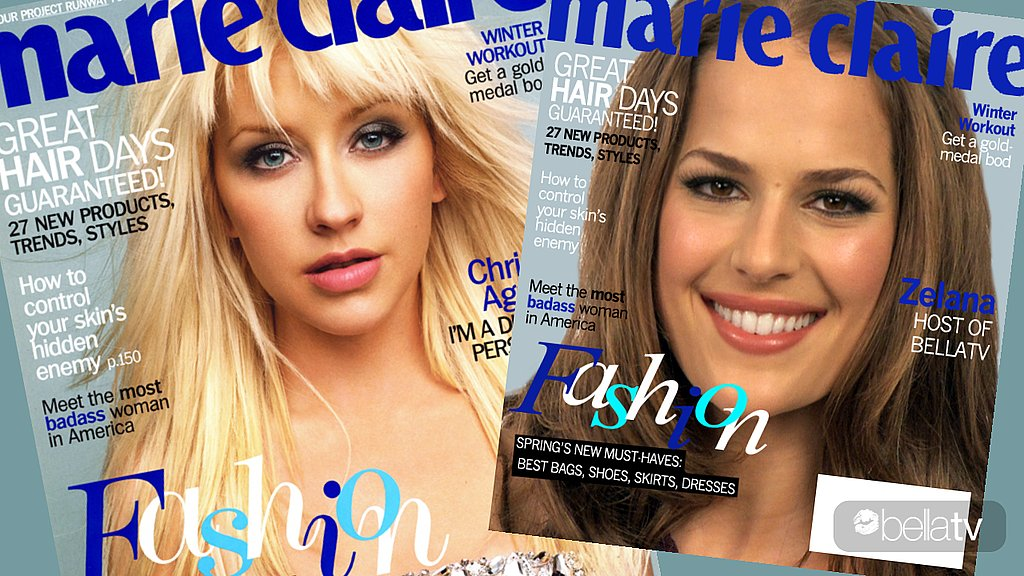 Christina Aguilera, February Cover of Marie Claire, Get the Look, Celebrity Makeup Artist, Metallic Smoky Eye, Makeup