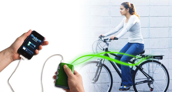 Fight Vampire Power and Charge Your iPhone With Your Bike