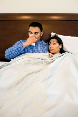 Stay Away From Sick Loved Ones If They Have a Cold
