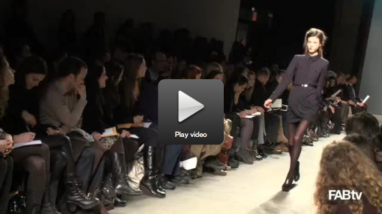 Video of Doo.Ri's Fall 2010 New York Fashion Week Show