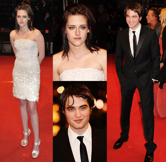 Photos of Robert Pattinson And Kristen Stewart at The 2010 BAFTA Awards 2010-02-21 13:29:37