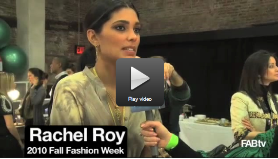 Rachel Roy Interview at 2010 Fall New York Fashion Week
