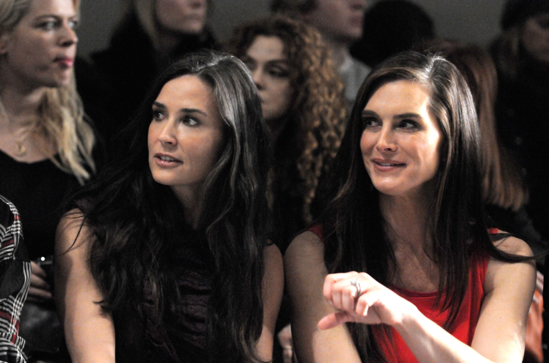 Demi Moore and Brooke Sheilds