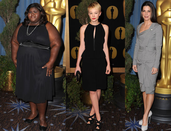 What Gabourey Sidibe, Carey Mulligan, and Sandra Bullock Will be Wearing on the Oscar Red Carpet 2010-02-16 11:30:05