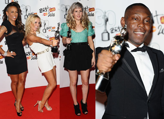 Photos and Full List of All the Winners at Brit Awards 2010 Lady GaGa, Lily Allen, Jay-Z, Robbie, Dizzee Rascal, Spice Girls 2010-02-16 15:00:30