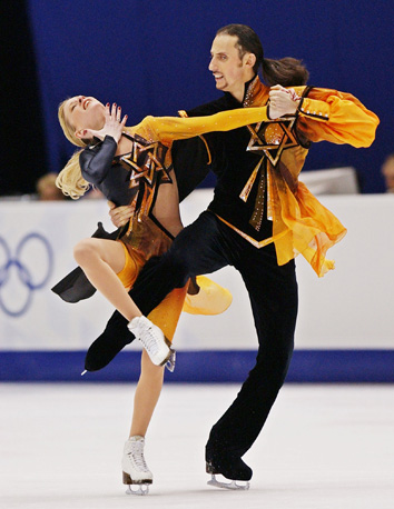 Galit Chait and Sergei Sakhnovski , Salt Lake City 2002