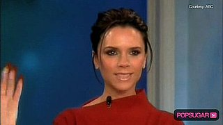 Video of Victoria Beckham on The View