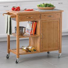 Bamboo Kitchen Island - Bed Bath & Beyond