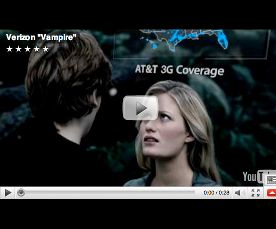 Verizon's Latest New Moon-Themed Commercial