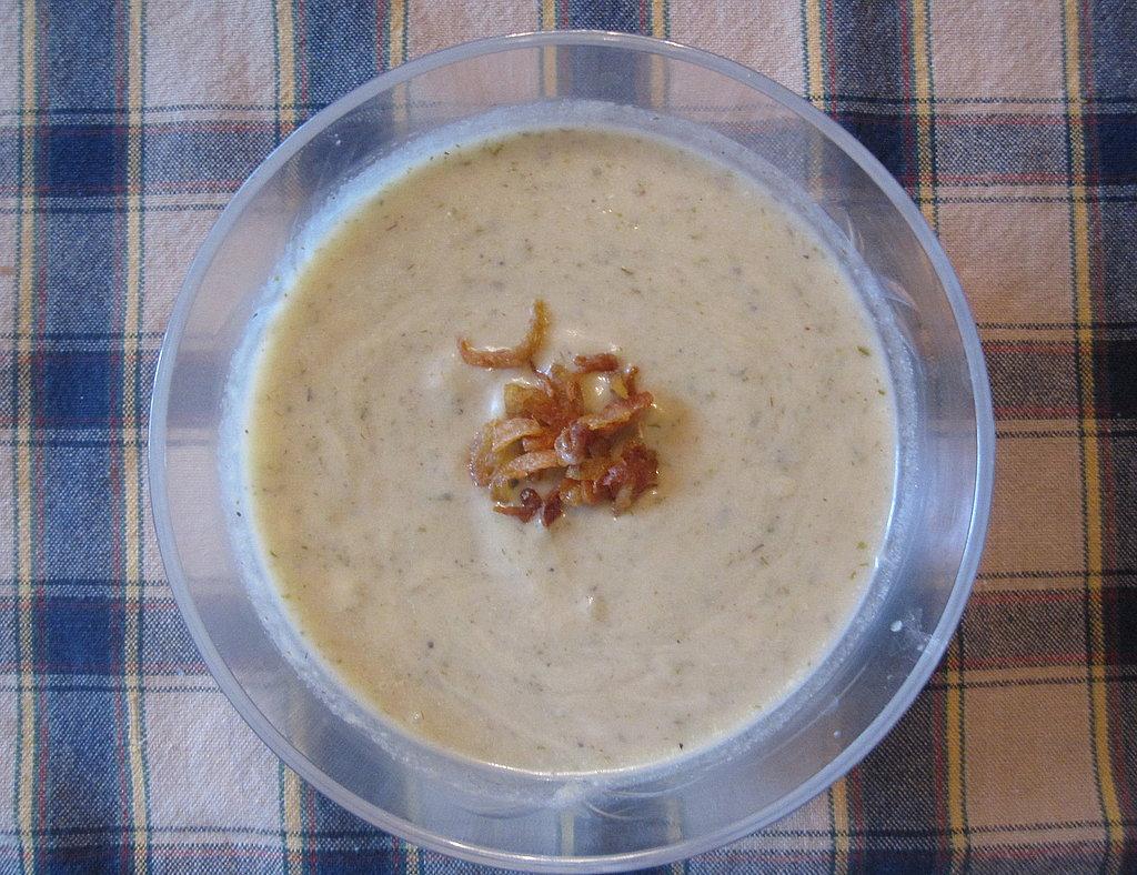 Roasted Potato Leek Soup