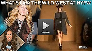 2010 Fall NYFW Trend: The Wild West