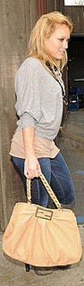 Hilary Duff Carrying Fendi Bag
