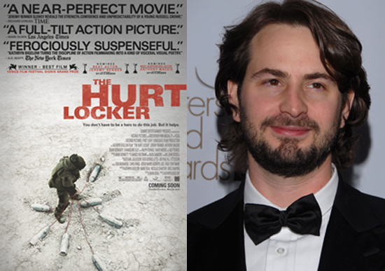 Mark Boal Wins the 2010 Best Original Screenplay Oscar for The Hurt Locker