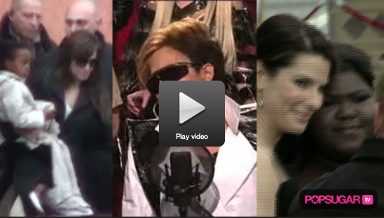 Video of Brad and Angelina Carrying Their Kids in Italy and Britney Blond Again!