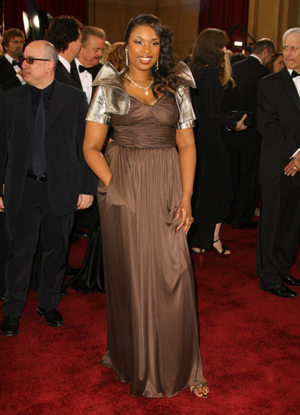 Jennifer Hudson at the 2007 Academy Awards