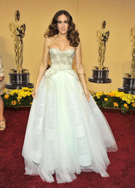 Sarah Jessica Parker at the 2009 Academy Awards