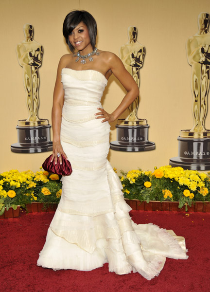 Taraji P. Henson at the 2009 Academy Awards