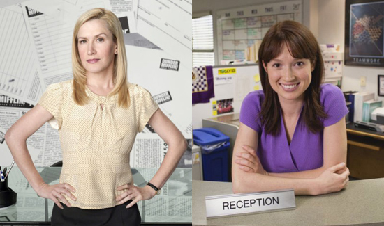 """Interview with The Office's Angela Kinsey and Ellie Kemper About Web Series """"The Mentor"""" and Jim and Pam's Baby"""