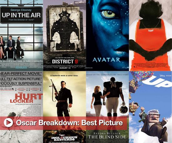 Predictions For the 2010 Oscar Award For Best Picture
