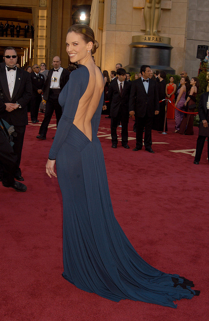 Hilary Swank at the 2005 Academy Awards