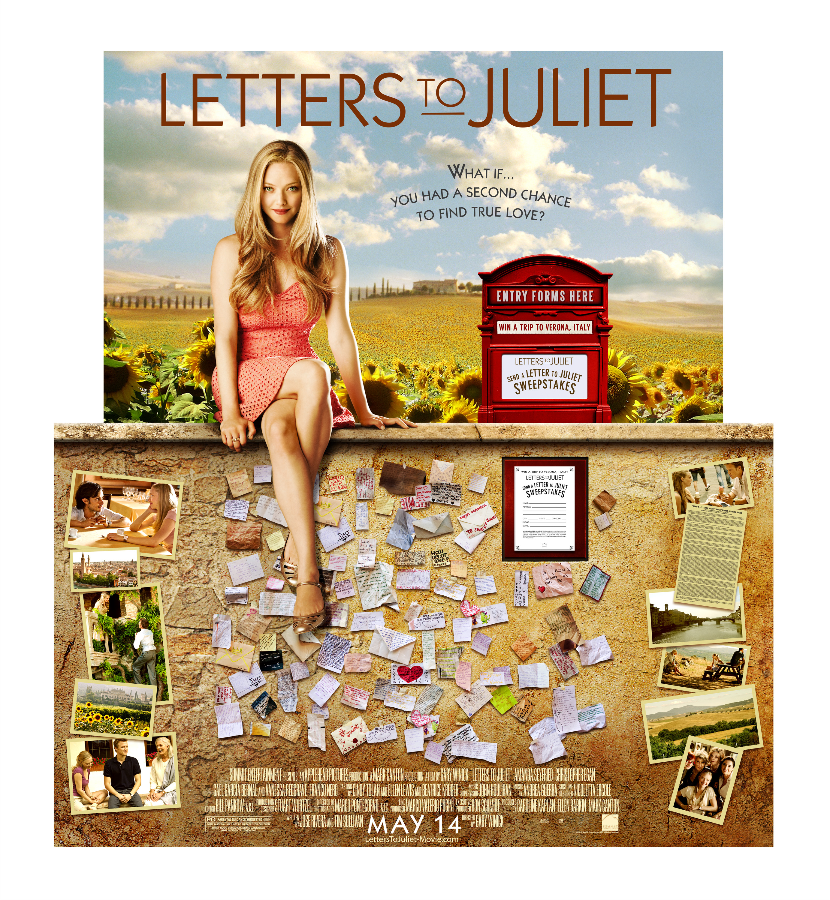 Exclusive Artwork Featuring Amanda Seyfried In Letters To