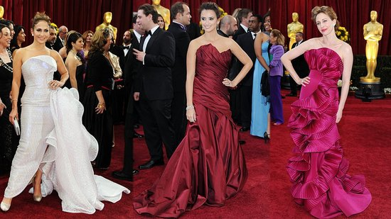 Jennifer Lopez, Penelope Cruz, and Vera Farmiga: Belles of the Ball Gowns