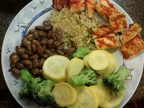 Quinoa and tofu-dieters, vegans and food lovers delight!