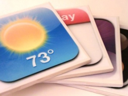 iPhone/iPod Touch App Coasters