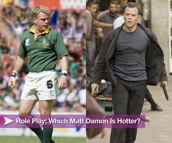 Role Play: What Matt Damon Is Hotter?