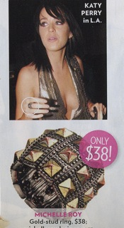 You Can Own A Ring Like Singer Katy Perry's