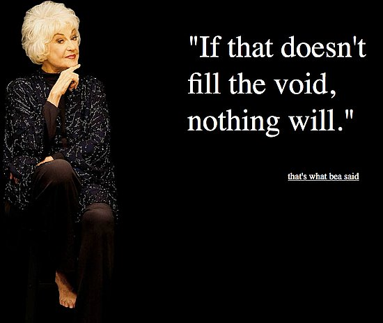 Bea Arthur Quotes: That's What Bea Said