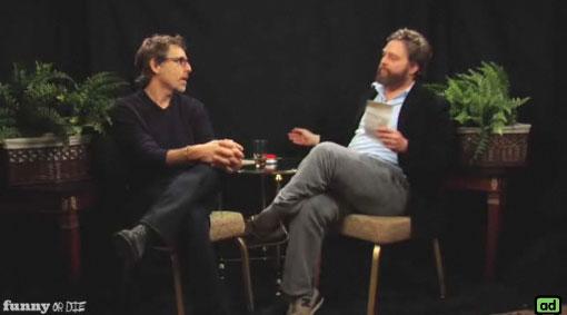 Zach Galifianakis Interviews Ben Stiller on Between Two Ferns