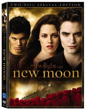 New Moon DVD Releases at Midnight Friday March 19 With Parties