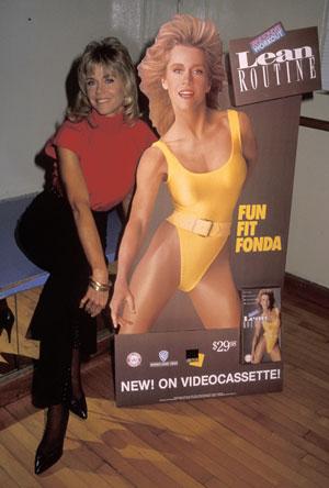 Jane Fonda Hosting World Fitness Day on May 1