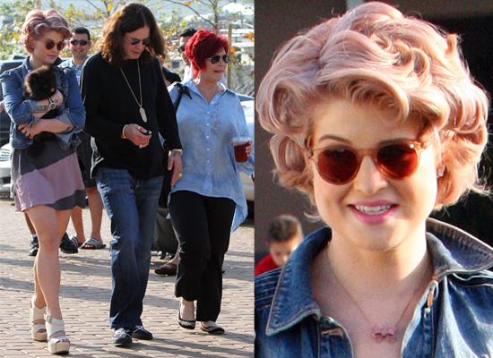 Photos of Kelly Osbourne, Sharon Osbourne and Ozzy Osbourne Out in Los Angeles Together