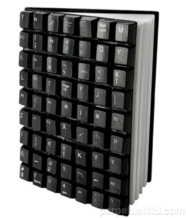 Recycled Keyboard Journal: Totally Geeky or Geek Chic?